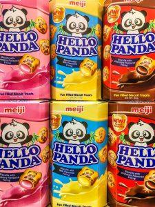 Galletas Panda de sabores