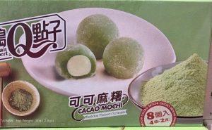 Mochis Japoneses Sabor Matcha