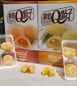 Mochis Japoneses Sabor Mango y Melocotón