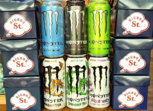 Bebidas Monsters